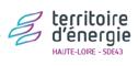 Logo territoire d'énergie de haute loire