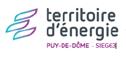 Logo territoire d'énergie du puy de dome